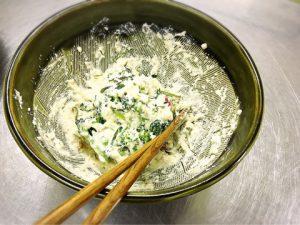 アスリート料理講座sacchin-colza